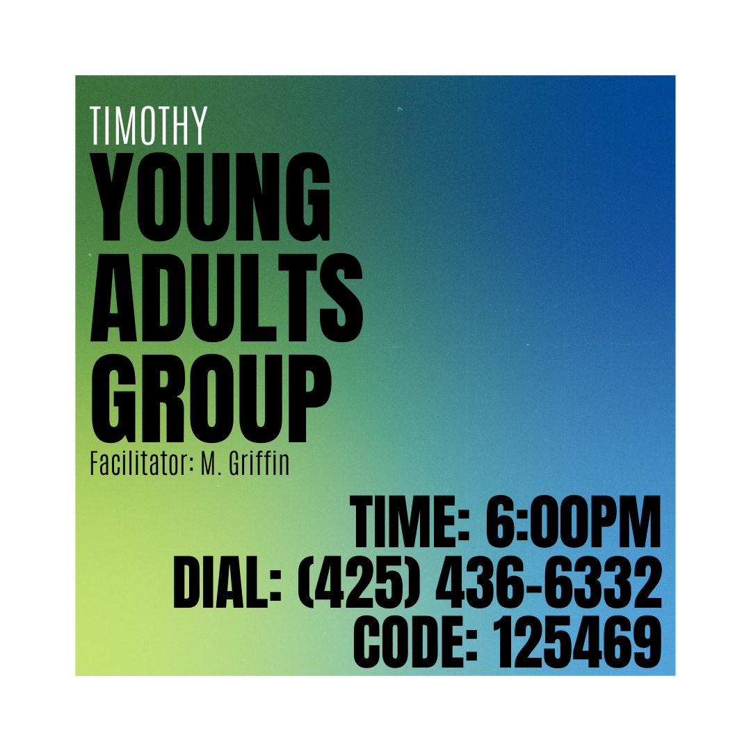 Timothy Young Adults Group