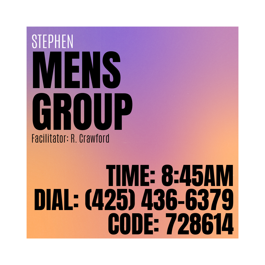 Stephen Men's Group