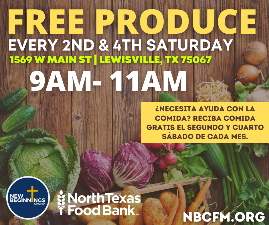 NBC Mobile Food Pantry **NEW TIME**