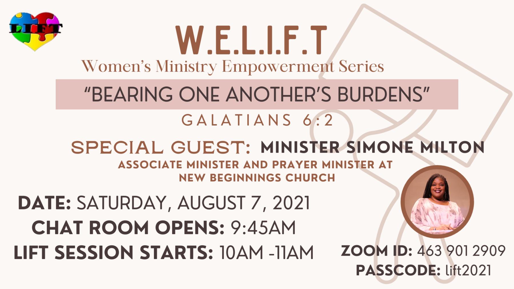 Women's LIFT Ministry