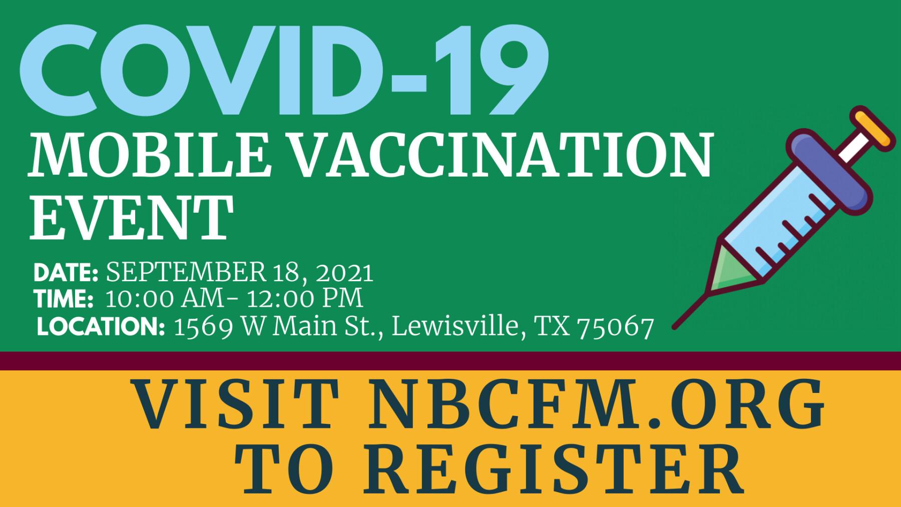 COVID-19 Vaccination Event